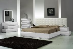 Many great bedroom suites and platform beds with platform beds that are also better for your back.